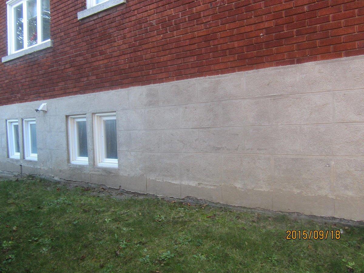 Rev tement acrylique comme finition de b ton monsieur cr pi for Enduit beton exterieur